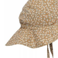 Hasla baby sunhat melodie dark honey  Konges Slojd