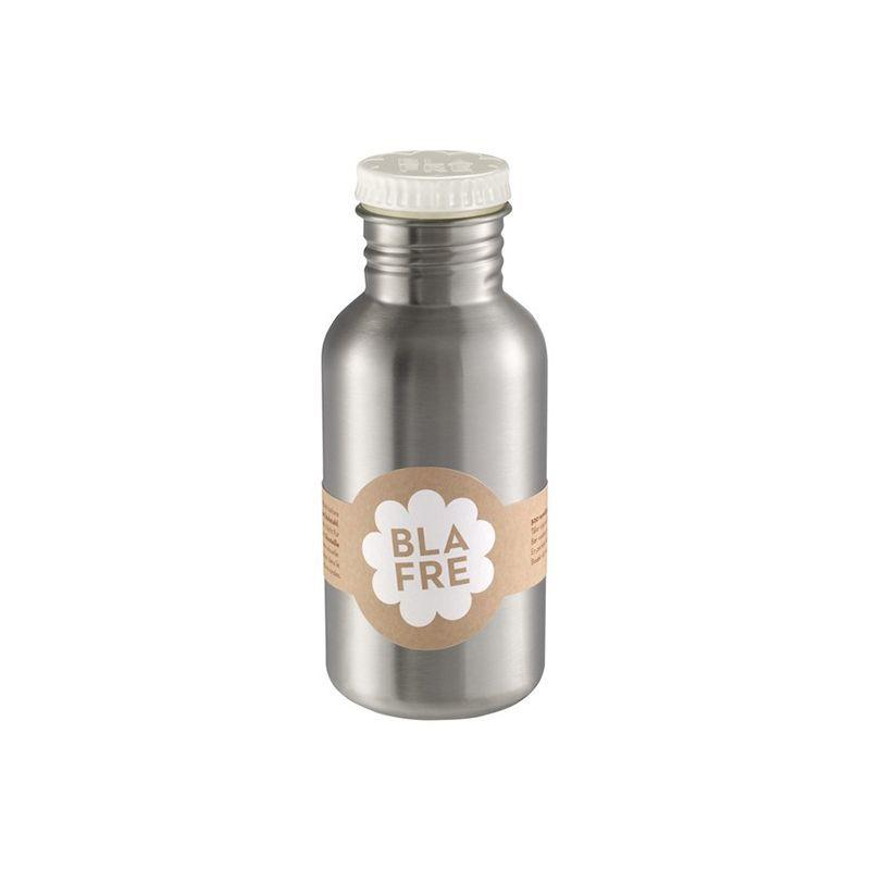 Gourde acier inoxydable 500ml blanche Blafre