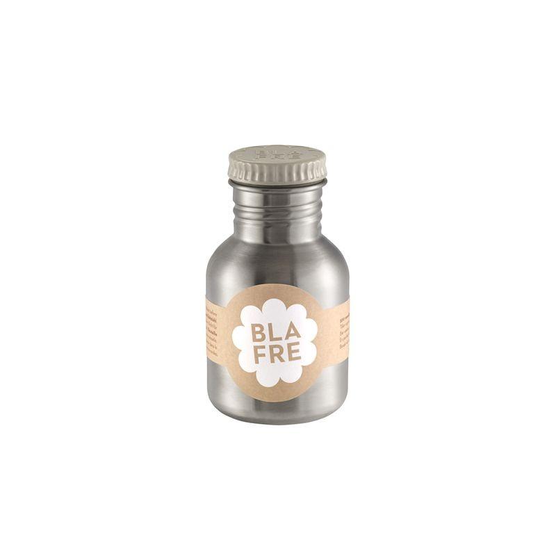 Stainless Steel Water Bottle 300ml grey Blafre