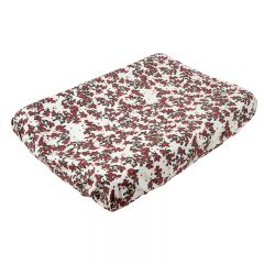 Cherry blossom muslin changing mat cover Garbo and Friends