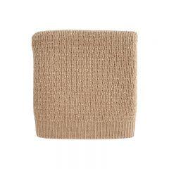 Wool Blanket Dora sand Hvid