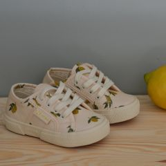 Sneakers Superga laces lemon Konges Slojd