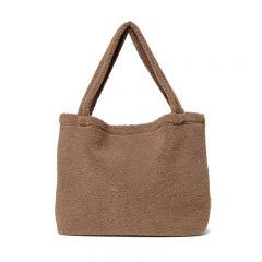 Sac mom-bag chunky teddy brown Studio Noos