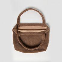 Mom bag brown chunky teddy Studio Noos