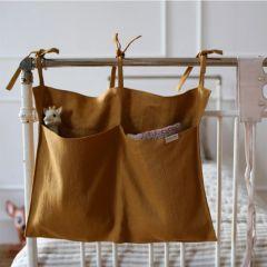 Linen organizer mustard Mallino