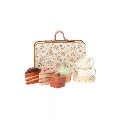 Cakeset in suitcase Maileg
