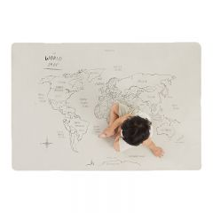 Mat vegan leather mini + worldmap Gathre