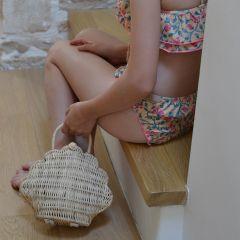 Sac coquillage straw Olliella