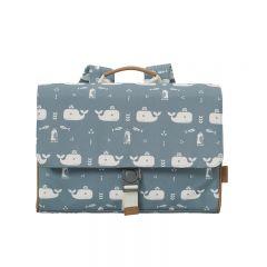 Whale school satchel Fresk