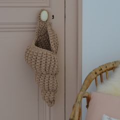 Coquillage long en crochet otter Supcio Design