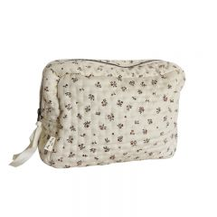 Quilted toiletry bag petit amour rose Konges Slojd