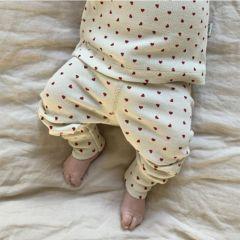 Leggings basil hearts Poudre Organic