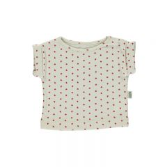 T-shirt borage hearts