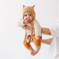 Béguin angora Kitty Camel Bambolina