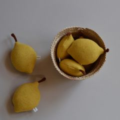Hochet citron Mikanu