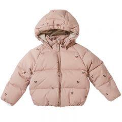 Down jacket cherry blush Konges Slojd
