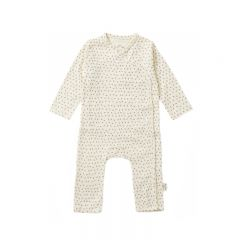 New born onesie tiny clover beige Konges Slojd