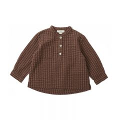Blouse charlie brown check Konges Slojd