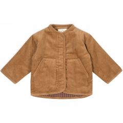 Quilted jacket faded brown Konges Slojd