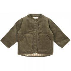 Quilted jacket walnut Konges Slojd