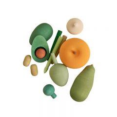 Ensemble légumes en bois vol 2 Raduga Grez