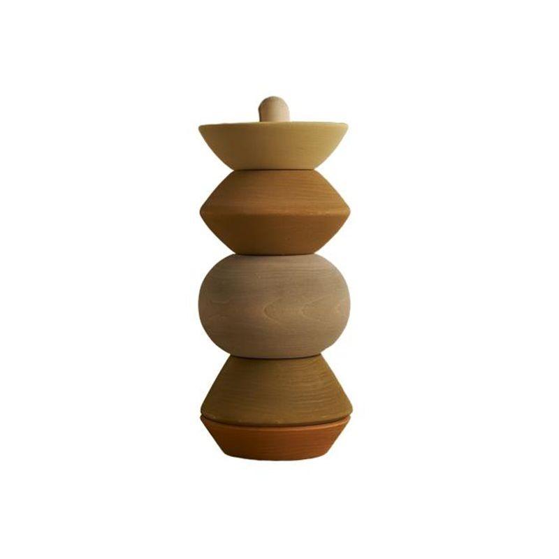 Big ball sculpture stacking tower Raduga Grez