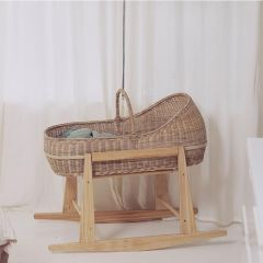 Lyra bassinet wood rocking stand Olli Ella