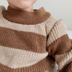 Witum knit sweater creamy almond Konges Slojd
