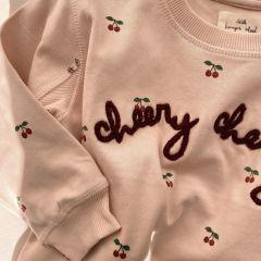 Sweat lou cherry blush Konge Slojd