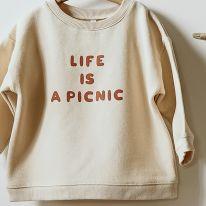 Sweat life is a picnic Organic Zoo