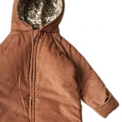 teddy suit deux cognac orangery beige Konges Slojd