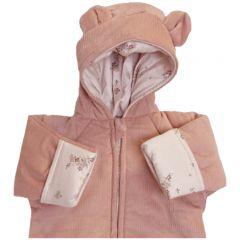 teddy suit deux rose blush nostalgie
