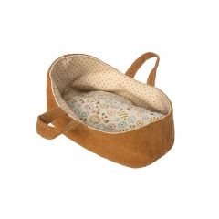 Carry cot, micro brown Maileg