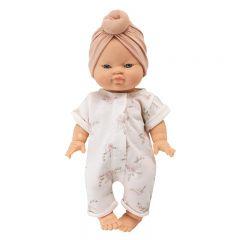 Vêtements de poupée pansies/nude Bonjour Little