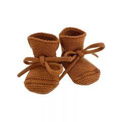 Chaussons en laine rust Hvid