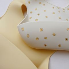 2 pack baby bib silicone buttercup Konges Slojd