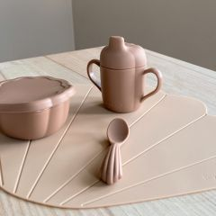 Set de repas coquillage blush Konges Slojd