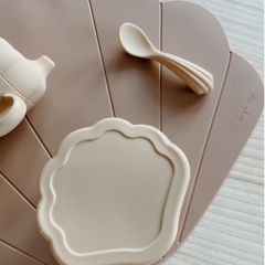 Silicone clam set shell Konges Slojd