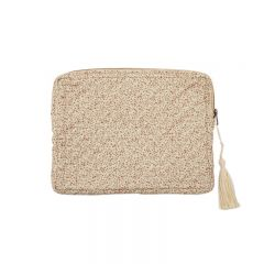 Tablet quilted bag blossom mist Konges Slojd