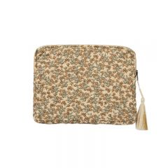 Tablet quilted bag orangery beige  Konges Slojd