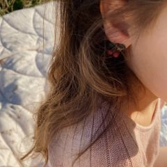 3 pack earclips fruit Konges Slojd