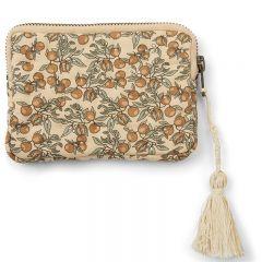 Quilt wallet orangery beige Konges Slojd