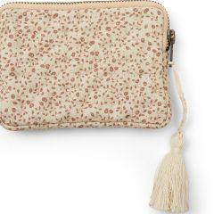 Quilt wallet blossom mist birk Konges Slojd