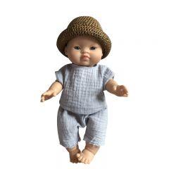 """Vêtements pour poupée """"Marcel"""" Tadaaam"""