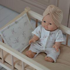 Parure de lit de poupée pansies Bonjour Little