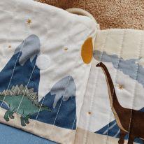 Livre d'éveil dinosaure Konges Slojd
