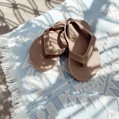 Flip flops camel Bonet et Bonet