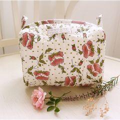 Make-up bag églantine rose Inspirations by la Girafe