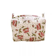 Make-up bag églantine rose Inspirations by la Girafe