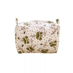 Make-up bag églantine vert Inspirations by la Girafe